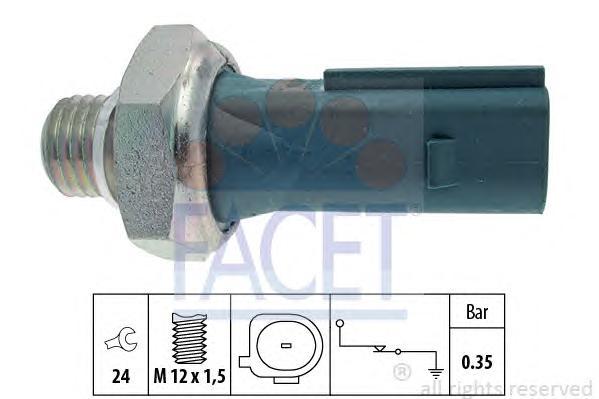 70177 Датчик давления масла MERCEDES-BENZ: A-CLASS (W169) A 150 (169.031, 169.331)/A 170 (169.032, 169.332)/A 200 (169.033, 169.