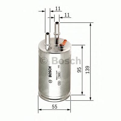 F026403014 Фильтр топливный VOLVO