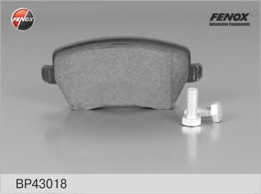 BP43018 Колодки тормозные NISSAN MICRA 03/RENAULT CLIO 05передние