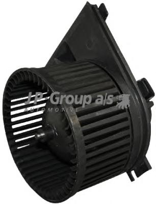 1126102500 Мотор отопителя салона с крыльчаткой / A4, VW Passat 97~05