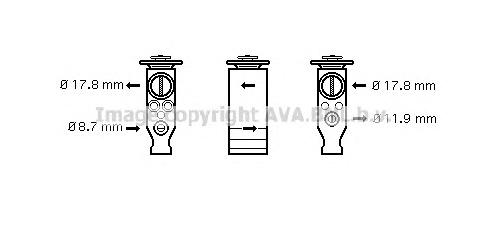 cn1244 Расширительный клапан, кондиционер