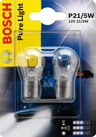 1987301016 Лампа P21/5W BAY15d Pure Light (компл.blister 2шт.)