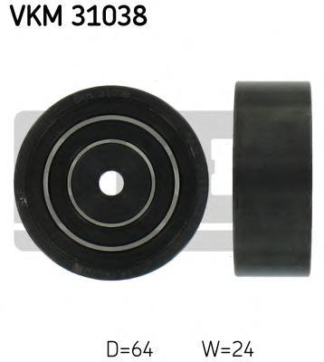 VKM31038 Ролик приводного ремня