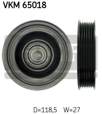 vkm65018 Паразитный / ведущий ролик, поликлиновой ремень