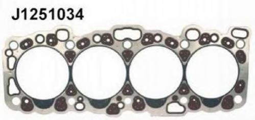 J1251034 Прокладка ГБЦ NISSAN PRIMERA (P10)/ALMERA I (N15) 2.0 D 91-00