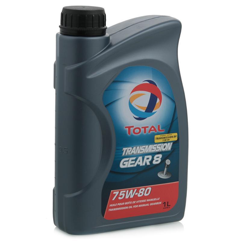201278 Масло трансм. TOTAL TRANS GEAR 8 75w-80 (1л.)