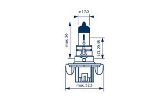 48092 Лампа H13 12V 60/55W P26.4t