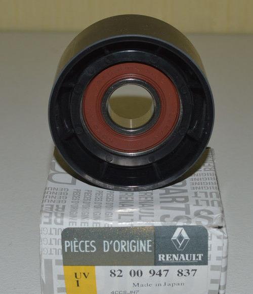 8200947837 Ролик ремня приводного RENAULT LAGUNA II/TRAFFIC 1.9DCi/2.0i направляющий