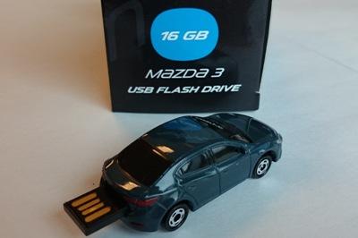 830077727 Флешка USB 16 Гб Mазда-3 седан
