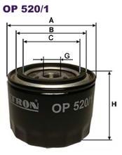 OP5201 Фильтр масляный LADA 08-112/FORD SIERRA/SCORPIO 2.0-2.9 83-94