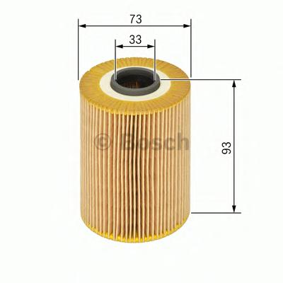 F026407073 Фильтр масляный OPEL ASTRA/ZAFIRA 1.7 CDTI 07-