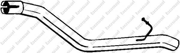 801177 Выхлопная труба FORD FOCUS 01-04 1.8D