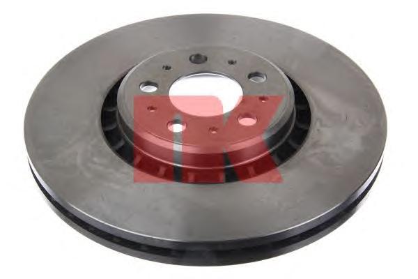 204853 Диск тормозной VOLVO XC90 02 R17 передний вент. D=336мм