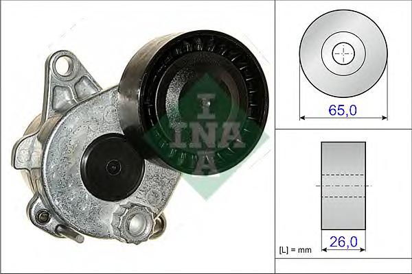 534033610 Натяжитель ремня приводного MB W204/212/X204/W221 2.2CDI 08-