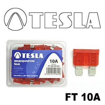 FT10A50 Предохранитель флажковый 10А (уп. 50 шт.)