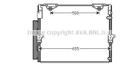 to5560 Радиатор кондиционера