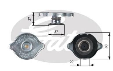 RC217 Крышка системы охлаждения дв. MB (W463)