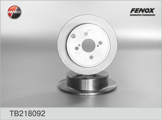 TB218092 Диск тормозной TOYOTA COROLLA (E12) 1.4-1.8 02- задний