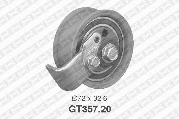 GT35720 Ролик ремня ГРМ AUDI A4/A6/VW PASSAT 1.8