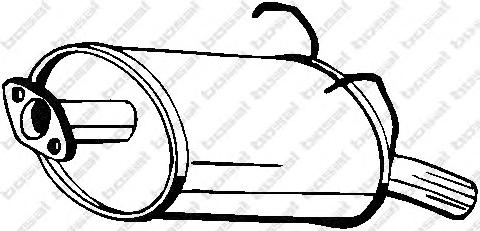 163281 Глушитель HONDA CR-V 2.0 02-06