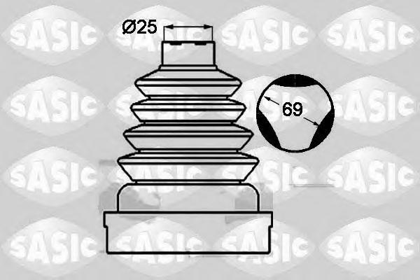 1904023 Пыльник ШРУСа RENAULT LOGAN/SANDERO/LAGUNA/TWINGO внутренний правый