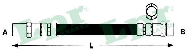 6T46341 Шланг тормозной M10x1x305 mm пер. G2 GTI