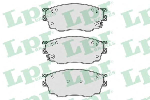 05P877 Колодки тормозные MAZDA 6 1.8 02- передние