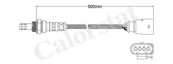 ls140021 Лямбда-зонд AUDI: A3 1.6/1.6 E-Power 03-12, A3 Sportback 1.6/1.6 E-Power 04-, A3 кабрио 1.6 08-, A4 3.2 FSI/3.2 FSI qua