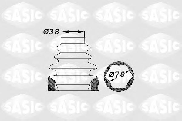 1900012 К-т пыльника ШРУСа внутр. PSA C5 I,II,II