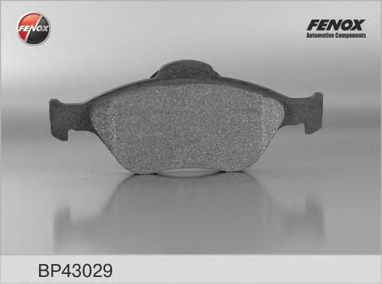 BP43029 Колодки тормозные FORD FIESTA 9501/01/FUSION 01 передние