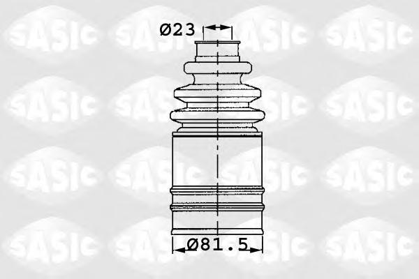 1904006 Пыльник ШРУСа RENAULT TRAFFIC II 06- внутр.прав.
