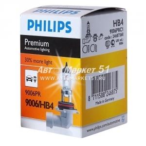 9006PRC1 Лампа HB4 Premium 12V 55W P22d