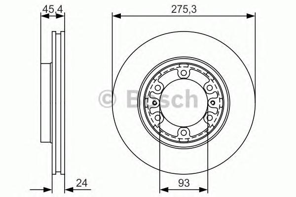0986479r40 Тормозной диск