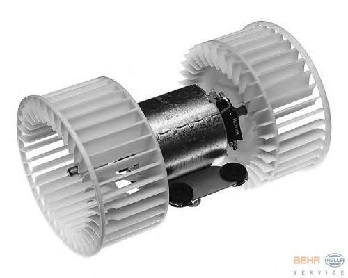8EW009100371 Мотор отопителя BMW E39/E53 95-/00-