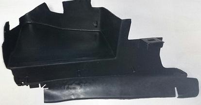 1252550 Дефлектор радиатора правый / FORD C-Max,Focus-II 03~