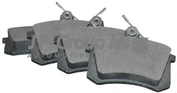 1163705810 Колодки тормозные дисковые задние / AUDI 80,90,100,200, A-4,A-6,A-8  82~