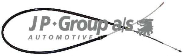 1170300100 Трос ручного тормоза / VW Golf-II, Jetta-I/II,Polo (барабанные тормоза) 83~88