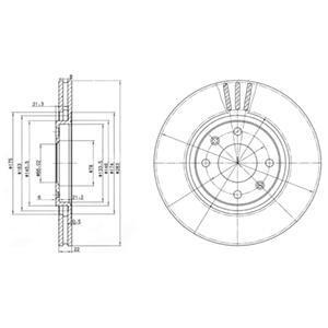 BG2690 Диск тормозной Fr PSA