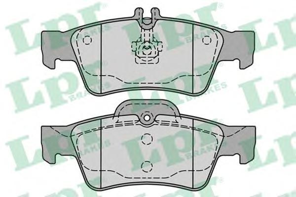 05P1232 Колодки тормозные MERCEDES-BENZ W211/W212/W220/W221/R230 задние
