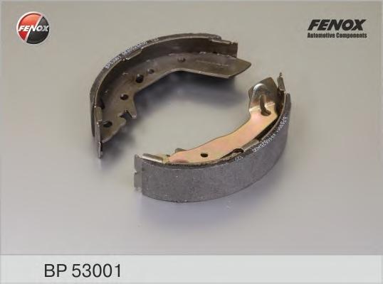 BP53001 Колодки торм.бар.HYUNDAI ACCENT 1.3-1.6 00-05
