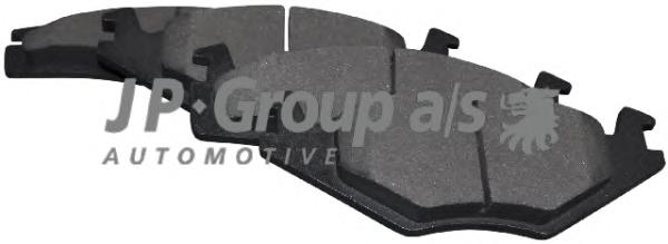 1163600510 Колодки тормозные дисковые передние / SEAT Cordoba,Ibiza-II;VW Corado,Golf-II, Jetta-II,Passat-II, Polo (вентилир. ди