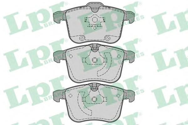 05P1244 Колодки тормозные OPEL SIGNUM/VECTRA C 2.8-3.2 03-/SAAB 9-3 1.8-2.8 05- передние