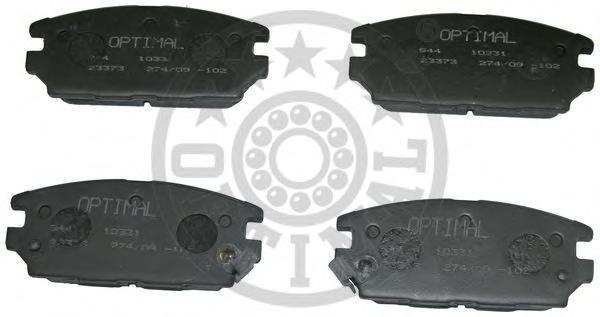 9713 Колодки тормозные MITSUBISHI GALANT 92-96/LANCER 94-03/SPACE WAGON 98- задние