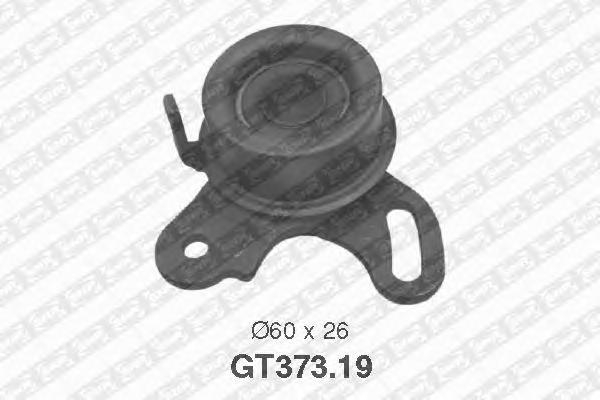 GT37319 Деталь GT373.19_pолик натяжной pемня ГPМ