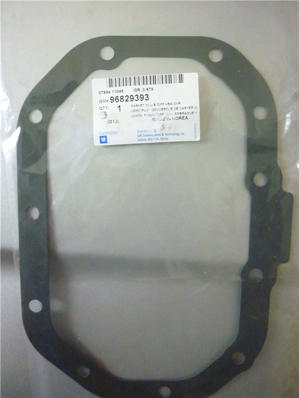 96829393 Прокладка МКПП 11 отверстий