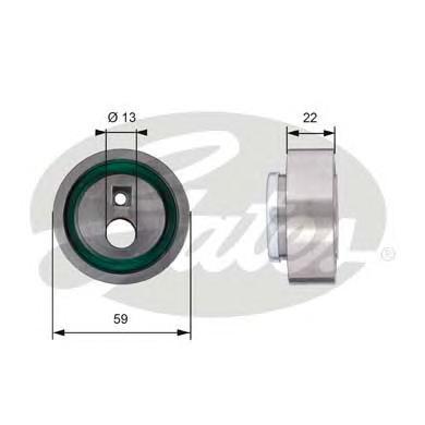 T41129 Ролик ремня ГРМ PEUGEOT 206/306/307 1.0-1.6/CITROEN XSARA 1.6-2.0