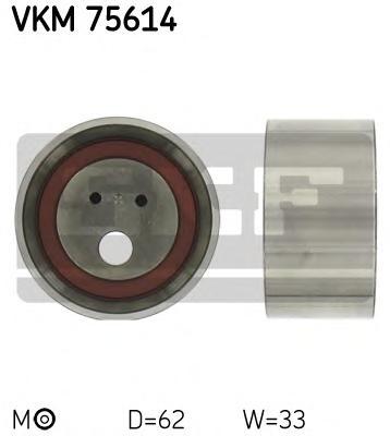 VKM75614 Ролик натяжной ремня ГРМ Mitsubishi Galant 2.0 11/92-4/95, 2.5 10/96-