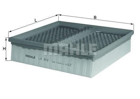 LX312 Фильтр воздушный MB W124 E250/E300 D/TD 93-