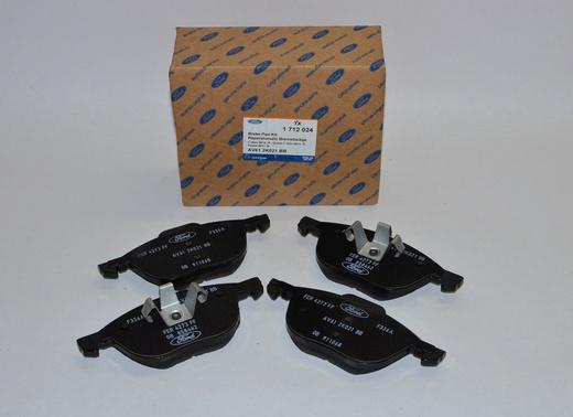1712024 Колодки передние Фокус III/EcoSport