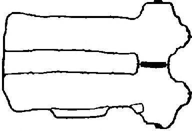 713481800 Прокладка клапанной крышки Opel Corsa C 1.0 Z10XE 00